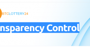 Btclottery24- Transparency- Control